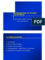 Le Trading Du Petrole Abstract