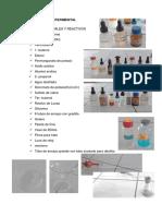 Procedimiento de Los Alcoholes, Aldehidos y Cetonas (1)