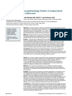 A Review of Pharmacoepidemiologic Studies of Antipsychotic Use in Children and Adolescents