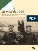 Zweig, Stefan - El mon de 1914 [36491] (r1.0) [CA].epub