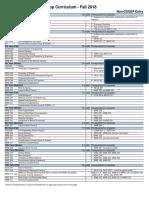 Mining Curriculum 2018-2019 Noncegep