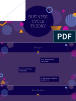 Business Cycle Theory