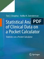 Statistical Anal. of Clinical Data on a Pocket Calculator - T. Cleophas, et. al., (Springer, 2011) WW.pdf