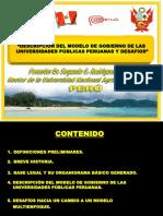 Modelo de Gobernanza Universitaria Peruana Ok Ok