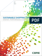 sustainable shopping centres and energy performance