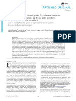 Articulo Original Dr Carlos Alejandro Gonzales Medina Uso Del Tiempo Libre en Actividades Deportivas y Drogas en Escolares Peruanos