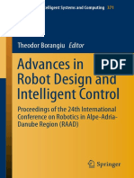 Advance in Robot Design and Intelligent Control_24th