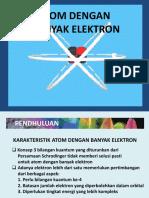 Pertemuan 13(Atom Berelektron Banyak Genap 2018)
