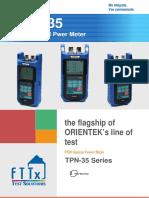 tpn-35 optical power meter