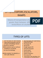 Lifts & Escalators