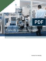 Referencia PLC y VDF SIEMENS