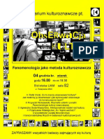 seminarium fenomenologiczne