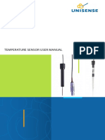 Temperature Sensor Manual