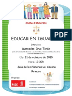 Charla sobre Igualdad en La Casona