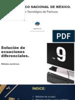 Solución de Ecuaciones Diferenciales.