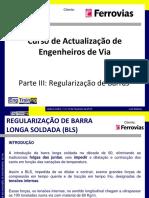 Modulo III Regularização de Barras
