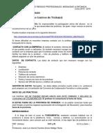 Información sobre el Proyecto Integrado y La Formación en Centros de Trabajo del CFGS de PRP