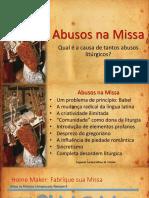 Abusos na Missa Nova de Paulo VI