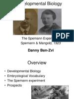 The Spemann Experiment