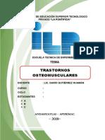 TRASTORNOS OSTEOMUSCULARES 11