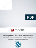 Presentación WordCamp España 2009