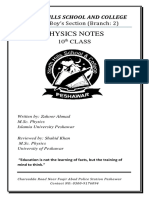 276069234-Physics-10th-Class-Notes.docx