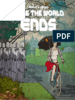 While the World Ends - Illustrated Edition
