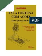 Baixar Faça fortuna com ações Livro Grátis (PDF ePub Mp3) - Décio Bazin.pdf