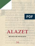 revista de filología lazet 16