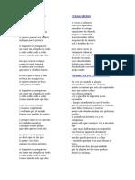 Poemas de Mario Bennedetti