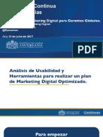 Herramientas Plan de Marketing Digital