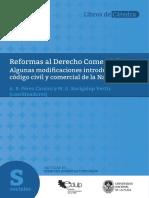Reformas al Derecho Comercial. Algunas modifcaciones introducidas por el código civil y comercial de la Nación