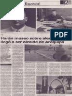 Harán museo sobre alemán que llegó a ser alcalde de Arequipa (Federico Emmel)