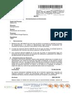 Auto No. 400- 012347 - Requerimiento Frente Al Proyecto de Calificación