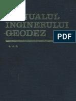 12.3.Manualul Inginerului Geodez Vol 3