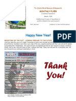 January 2019 Volunteer Flyer