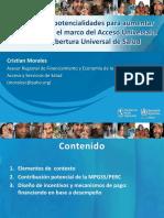 MPGSS PERC y Mecanismos de Pago