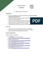 Parametros Temas de Experimentos hidrostaticos