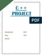 Ravi Project
