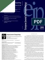 European Journal of Parapsychology v24-2 2009