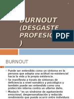 Burnout (Desgaste Profesional)