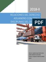 Relacion Del Derecho Aduanero Con Otras Disciplinas. Leopoldo
