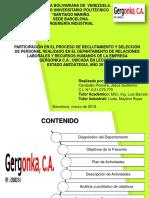 Presentación Pasantia - Reclutamiento y Selección.
