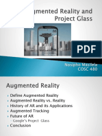AR and Google Project Glass Presentation