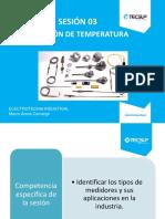 Sesión N°3 Sensores y transmisores de temperatura