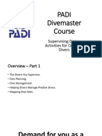 02 Supervising Diving Activities for Certified Divers