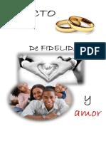 Pacto de Fidelidad y Amor