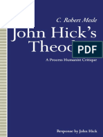 C. Robert Mesle (Auth.) - John Hick's Theodicy_ a Process Humanist Critique-Palgrave Macmillan UK (1991)