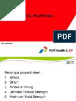 1.1 Steel Properties1