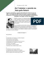 Brecht, Bertolt - Os Dias Da Comuna